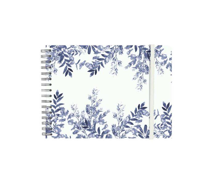 album-wyro-horizontal-pequeno-goma-blue-leaves-pepa-paper