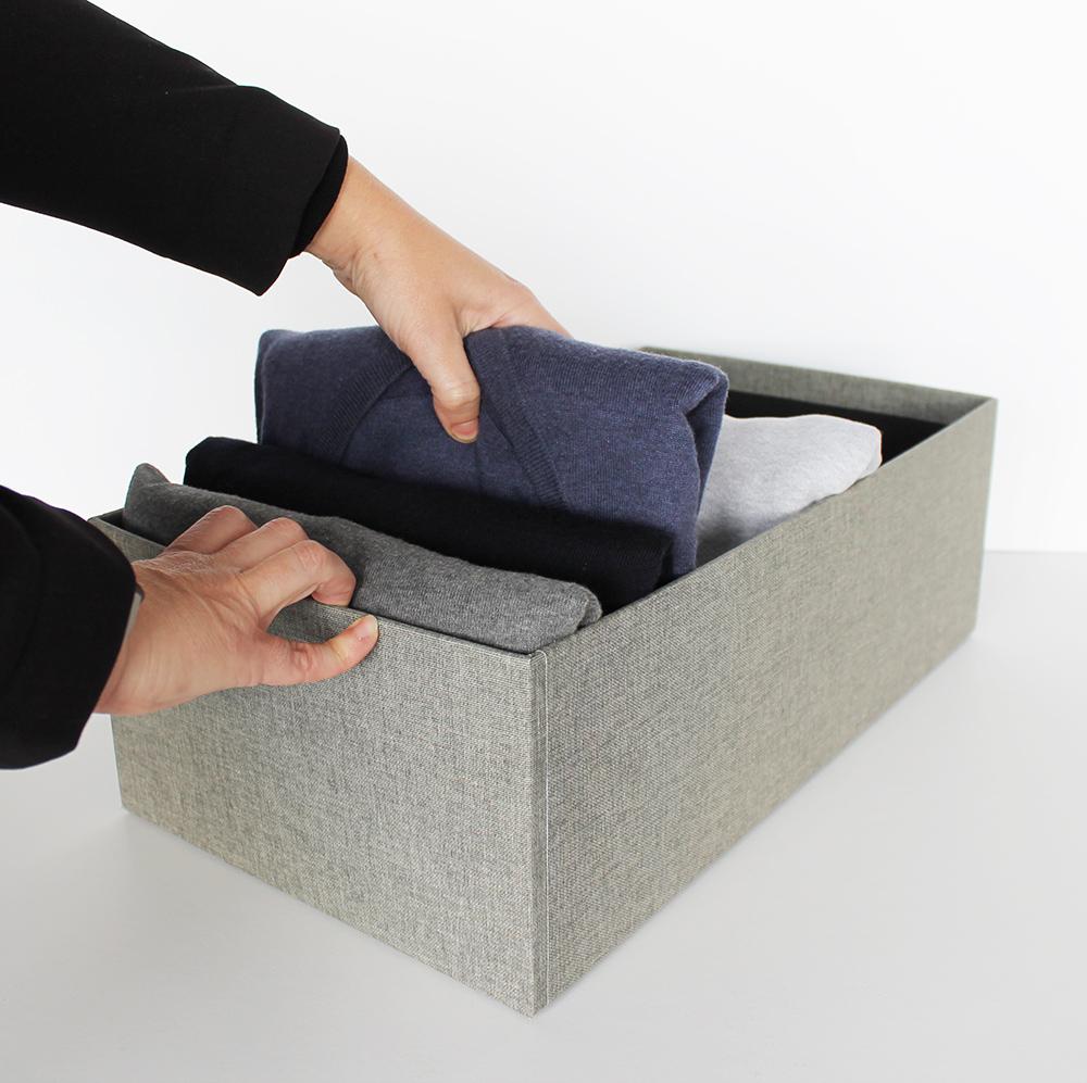 como ordenar un armario sin cajones
