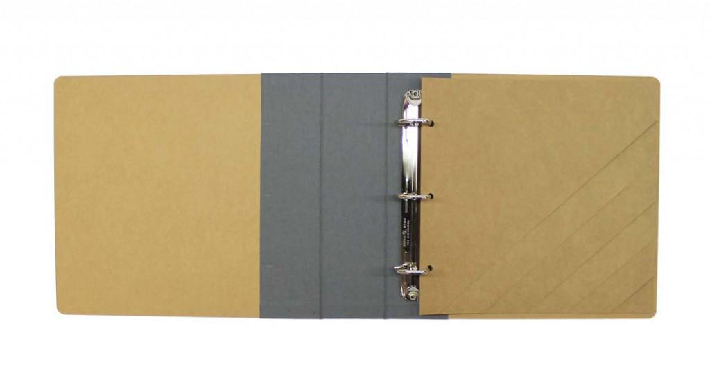 carpesano-kraft-pequeno-lomo-de-tela-gris-pardo-abierto