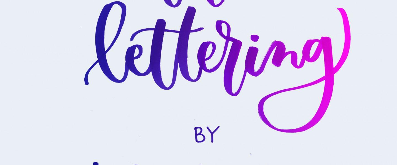Fantástico taller de lettering para prensa