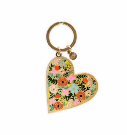 floralheart-keychain