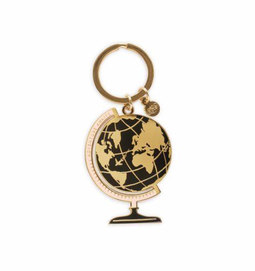 globe-keychain
