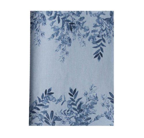 libreta-cosida-a5-blue-leaves