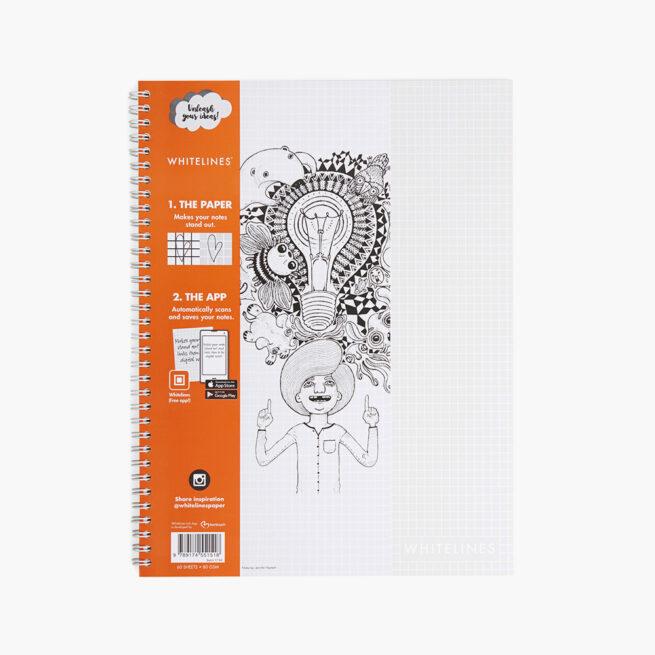 libreta-whitelines-link-wire-a4-squared