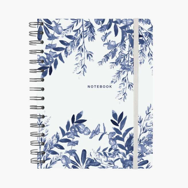 libreta-wyro-a5-blue-leaves-pepa-paper