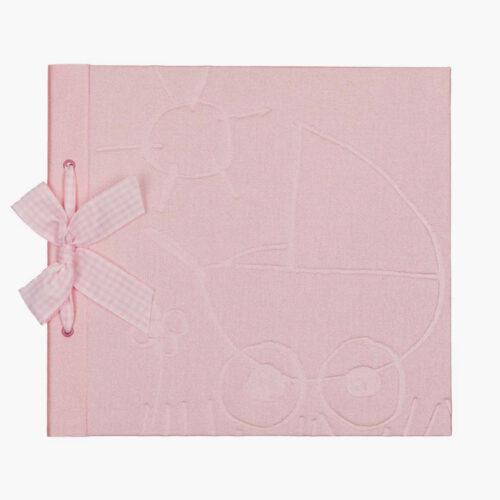 libro bebe tematico rosa