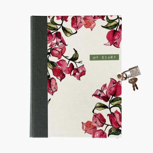 libro-diario-candado-BUGANVILLA