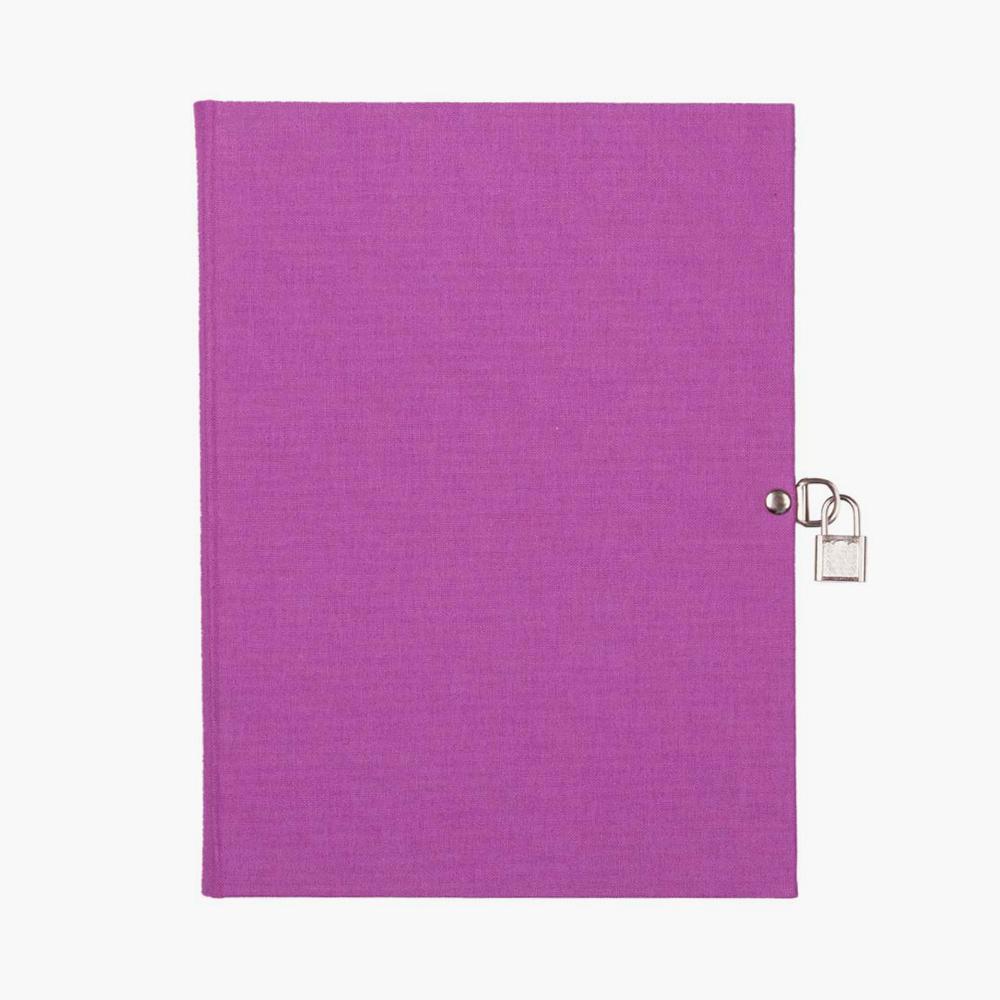 libro diario A5 lila