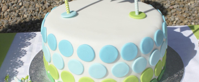 pastel decorado por Pepa Paper