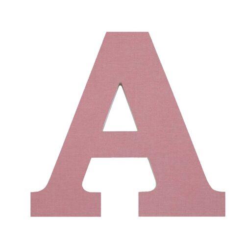 letra-forrada-tela-a-rosa-vintage