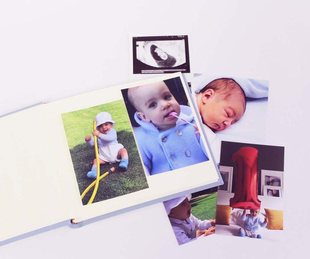 Álbumes para bebés