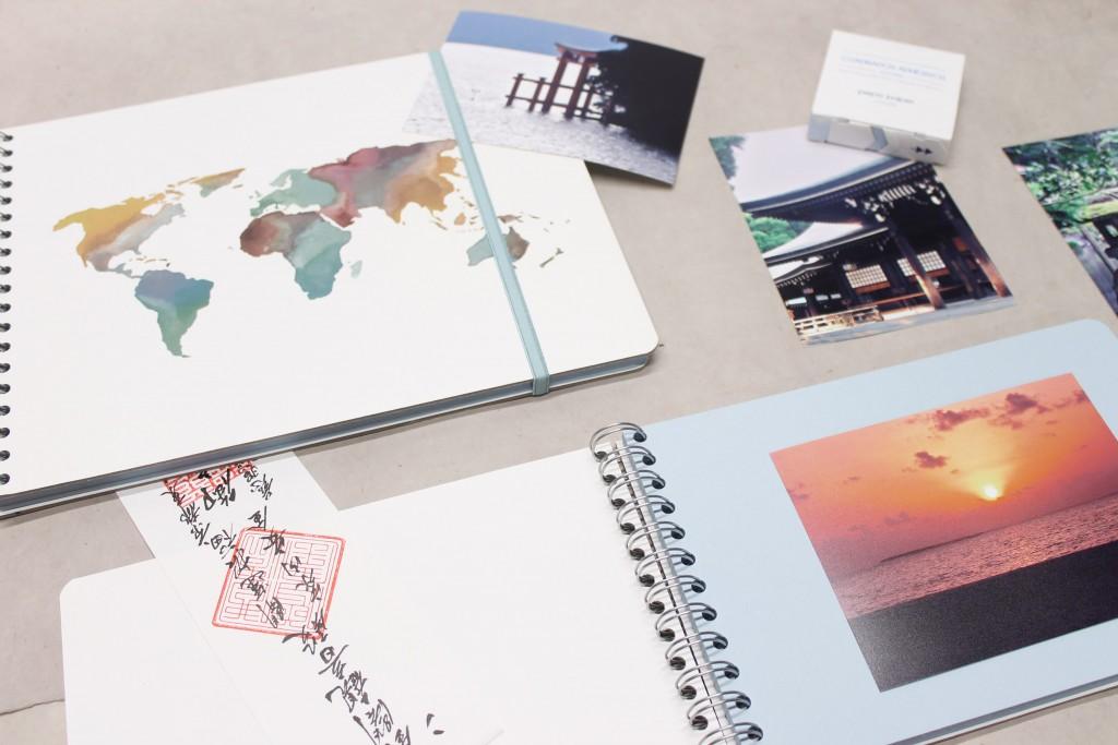 Álbumes de fotos tradicionales mapa mundi
