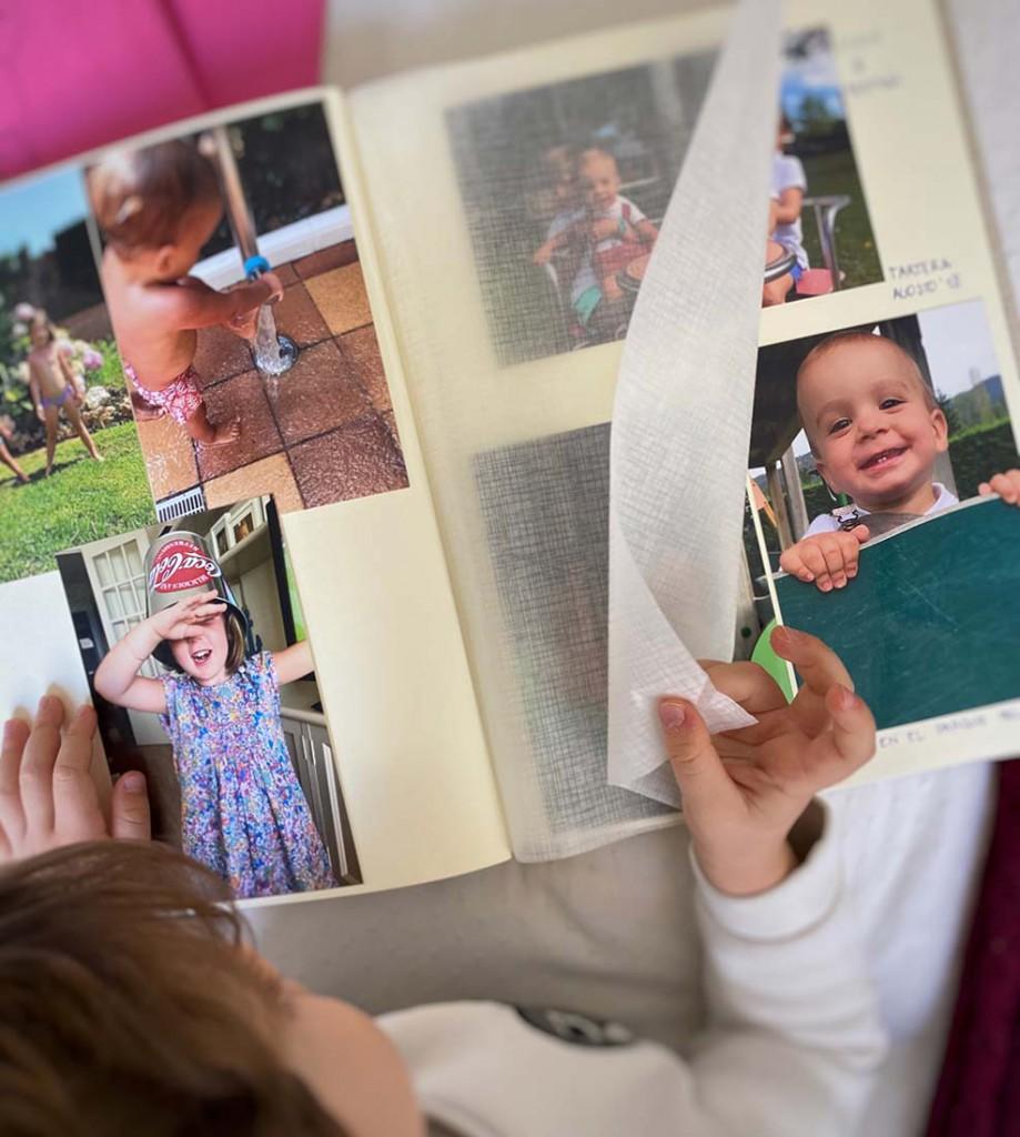 Álbumes de fotos tradicionales para niños