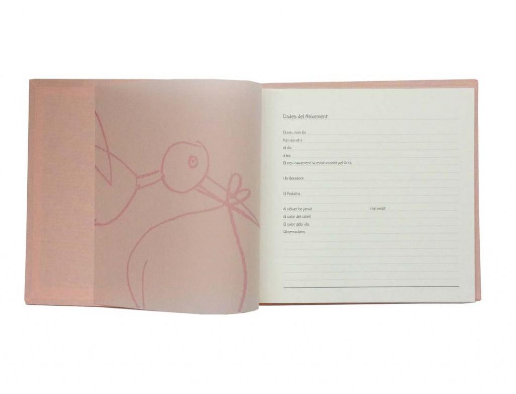 Álbumes fotos familiares para bebés