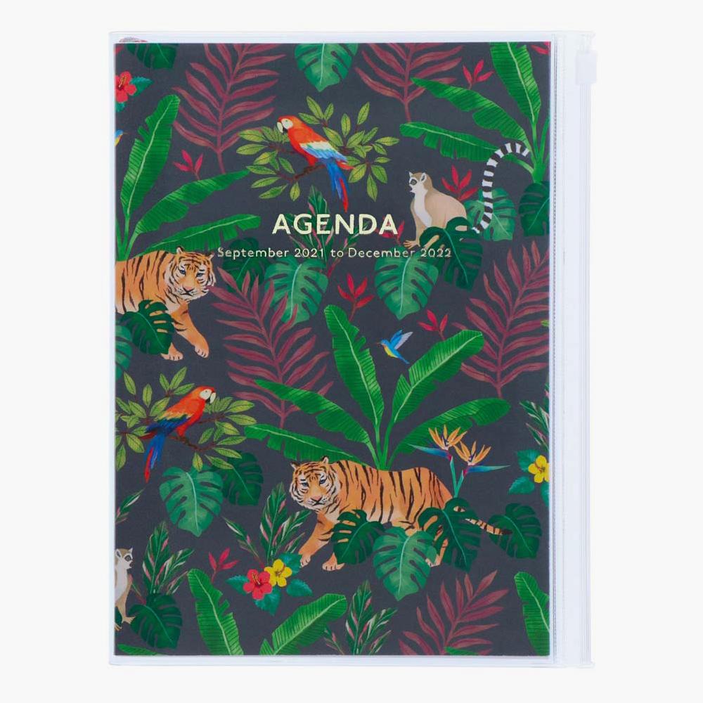 22DRI-HV04-BK-agenda-a5-jungla-negro
