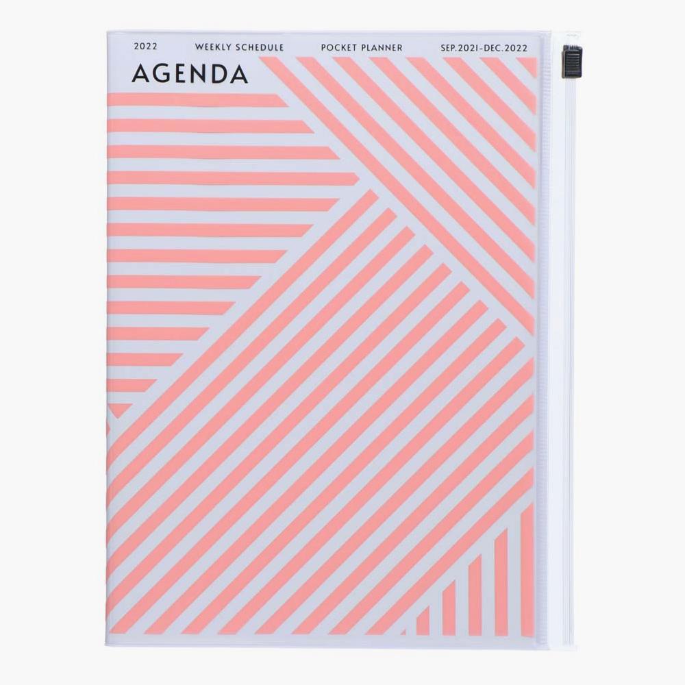 22DRI-HV06-YE-agenda-marks-a5-rayas-rosas