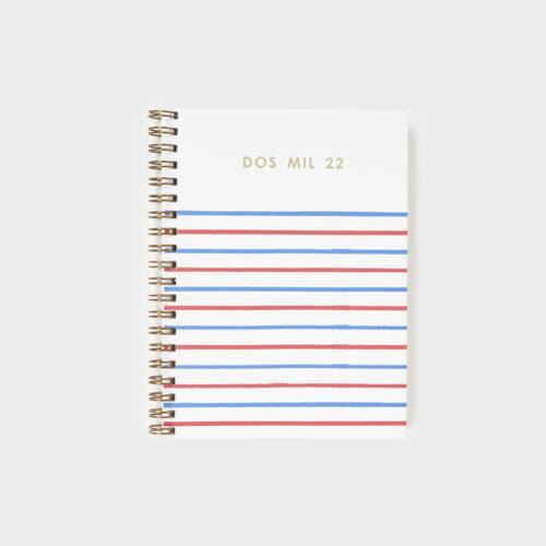 agenda-2022-pepa-paper-mili-rayas-azul-rojo